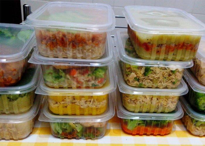 Preferência Comida congelada para vender - Negócio de cozinha LT27