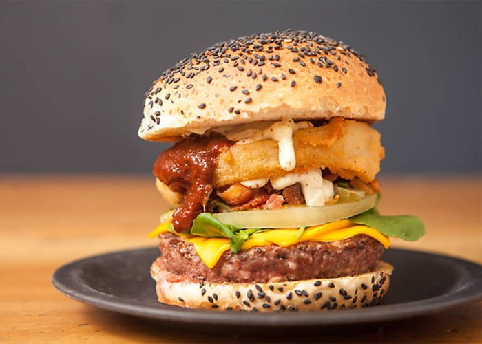 Curso de hambúrguer Gourmet
