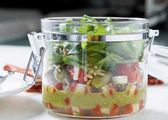 fazer salada no pote para vender