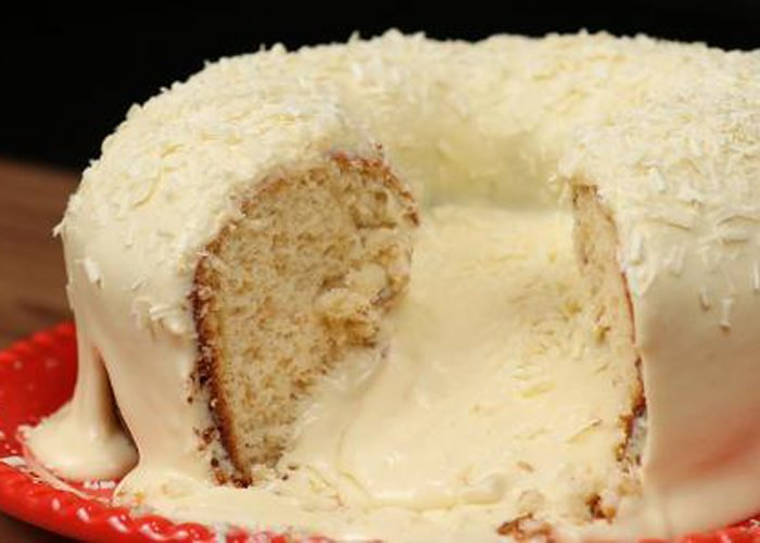 receita de bolo vulcão para vender