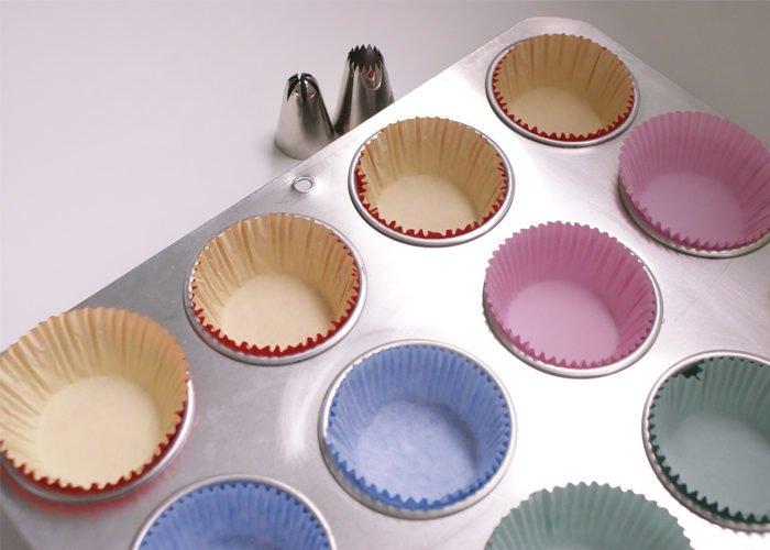 formas de cupcake