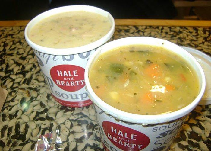 sopa no pote para vender