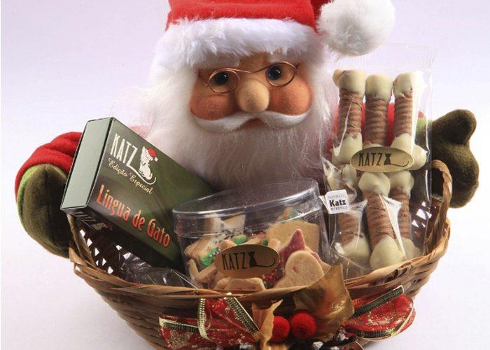 como fazer cesta de natal