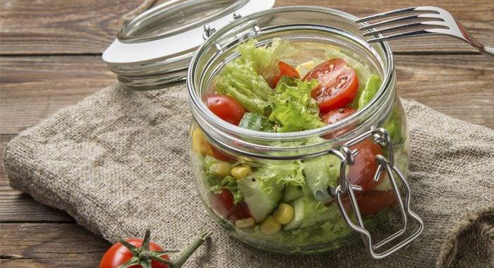 salada no pote delivery