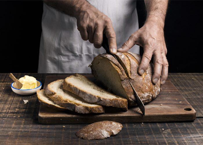 pão caseiro recheado para vender
