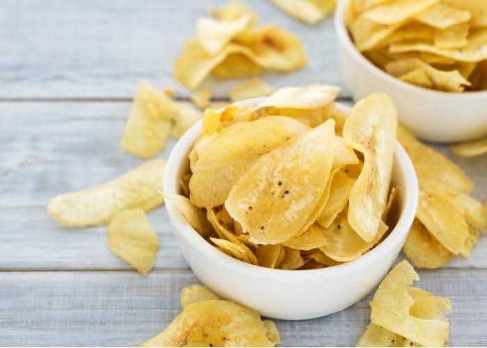 Como fazer banana chips para vender